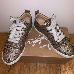 Christian Loub Sneakers Worn Once